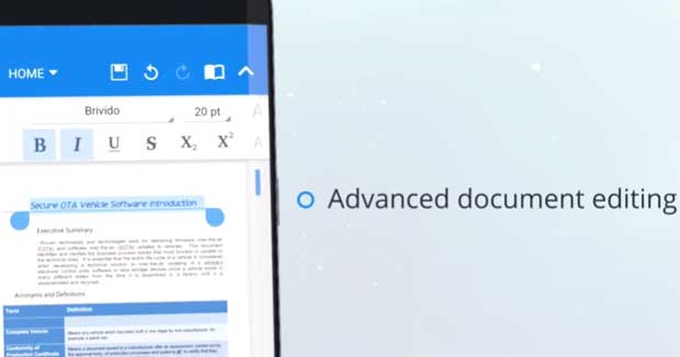 OfficeSuite - Modificare PDF Android